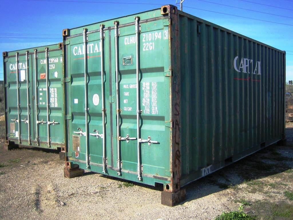 Cargo Worthy 20 Ft. Container