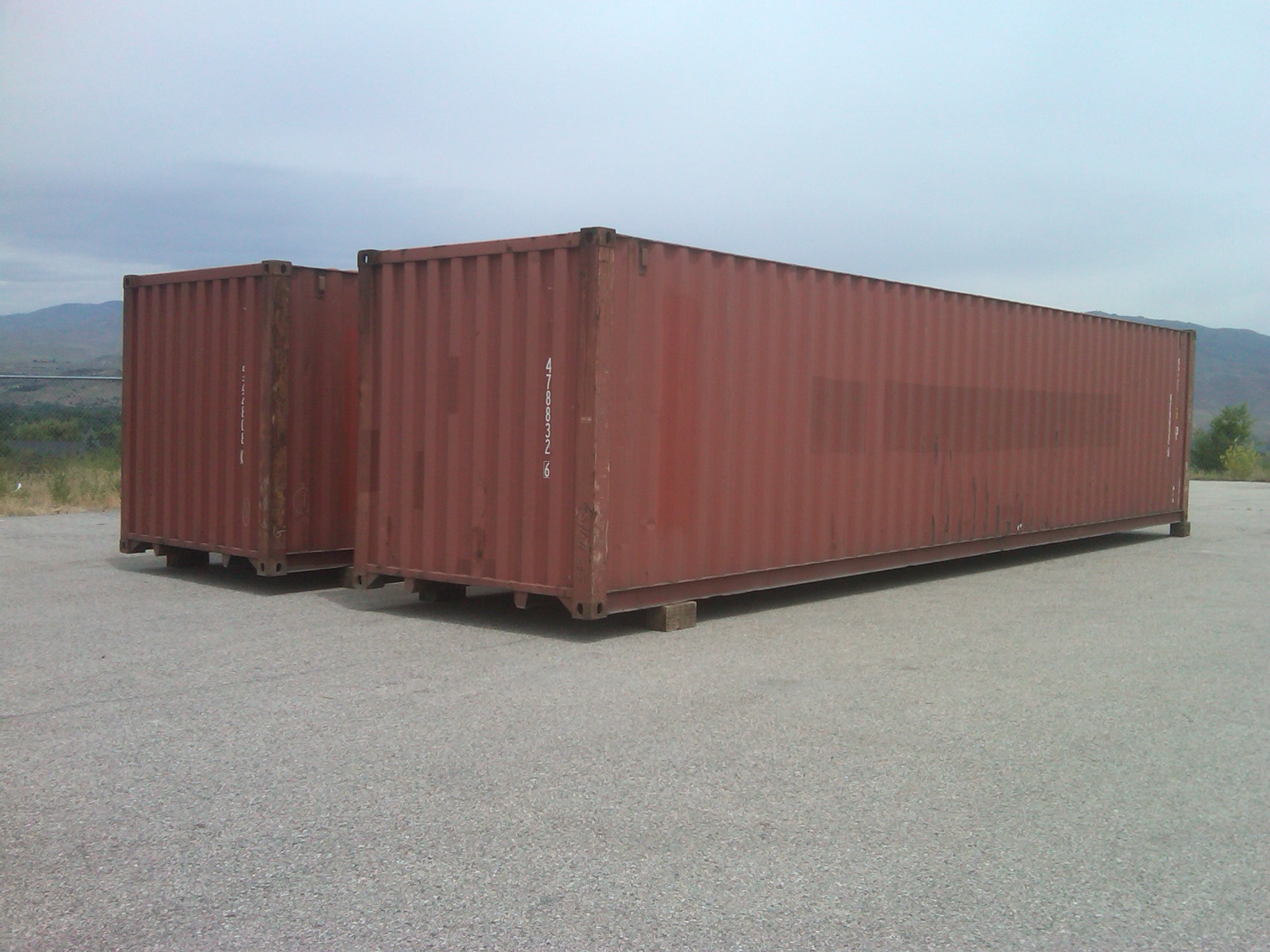 Great Cargo Worthy 40 Ft. Container